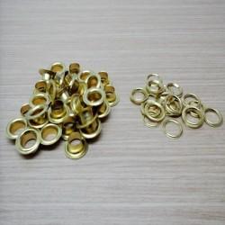 dorado con arandela del 25  en dorado